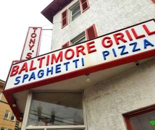 Tony's Baltimore Grill as one of the favorites in Atlantic City